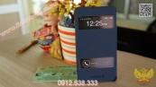 Bao da LG Optimus G F180 E975 thương hiệu Lots Double View (Có cửa sổ hiển thị)