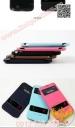 Bao da Samsung Note1/ N7000/ E160 thương hiệu Lots Double View (Có cửa sổ hiển thị)