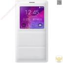 Bao da S View Cover Sam Sung Galaxy Note 4 chính hãng (Trắng - White) New 100%