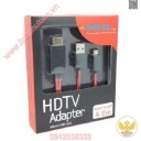 CÁP MHL TO HDMI 4M (MICRO USB) DÙNG CHO SMARTPHONE