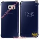 Bao da Clear view cover Samsung Galaxy S6 chính hãng ( xanh đen )