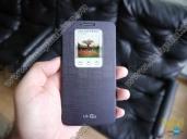 Bao da Quick Window cho LG G2/ D802/ F320 chính hãng 100% (Màu Đen)