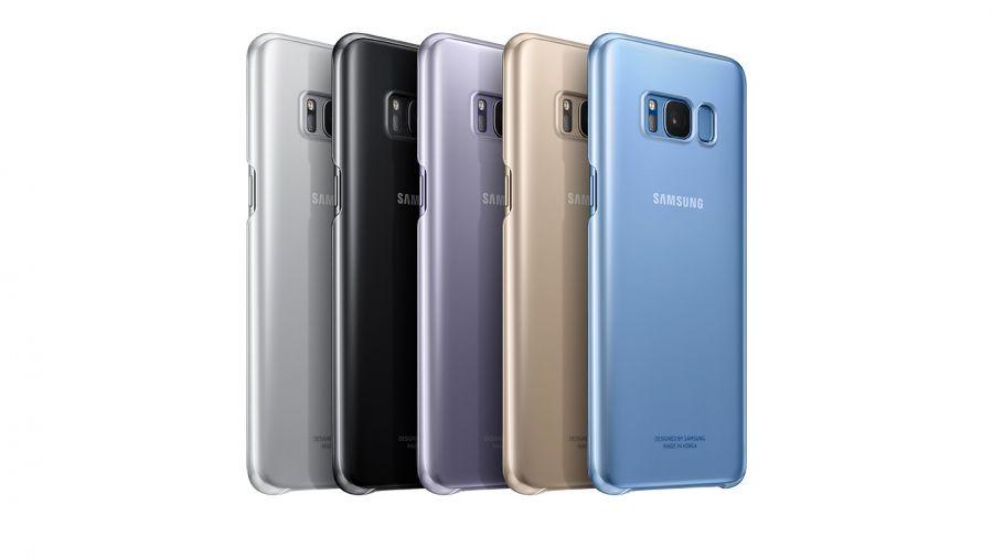 Ốp lưng clear cover Samsung Galaxy S8 Plus chính hãng