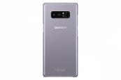 Ốp lưng Clear Cover Samsung Galaxy Note 8 chính hãng Tím Khói Orchid Grey