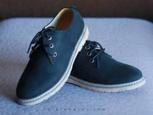Giày Buộc Dây Da Lộn GY399