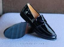 Giày Lười Nam Da bóng