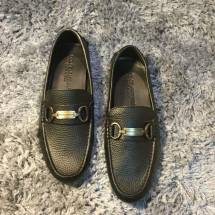 Giày lười nam da sần