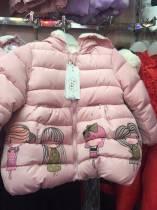 áo khoac bg cô gái, chất phao nhẹ , mềm, đẹp, rất xinh, hàng bán tết, size 1-4