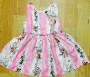 váy lala hoa hồng, size 3-8