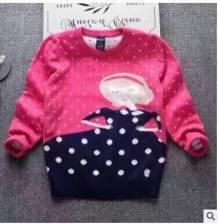 áo len bg chấm bi, chất len dệt 2 mặt, size 150-190/5