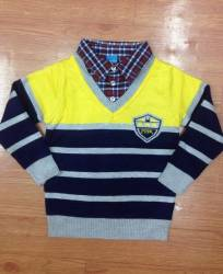 áo len bt cổ đức 606, kiểu dáng rất đẹp, len dệt 2 mặt rất mềm mại, size 100-150/5