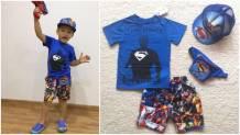 bộ bt siêu anh hùng set 4. size 3-10
