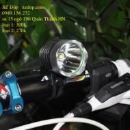 Đèn pha xe đạp 1T6 Led