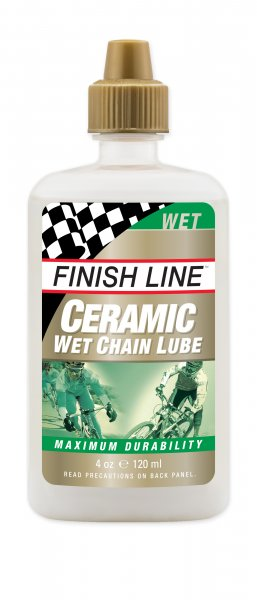 Dầu bôi trơn Finish line Ceramic Wet 120ml