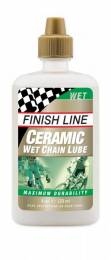 Dầu bôi trơn Finish line Ceramic Wet 120ml