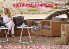 Nội Thất Minh Thy Tham Gia Triển Lãm VietBuild Home 2014