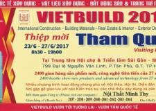 Công Ty Nội Thất Minh Thy Tham Gia Triển Lãm Quốc Tế VietBuild 2017
