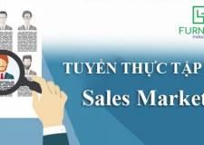 Thông Báo Tuyển Dụng: Thực Tập Sinh Mảng Sale và Marketing