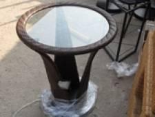 Bàn ghế cafe nhựa giả mây | Sản xuất bàn cafe nhựa giả mây