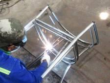 Ra mẫu khung sắt xi mạ kẽm bàn ghế cafe nhựa giả mây MT2A5
