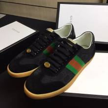 Sneaker Gucci Đen Cao Cấp 521681