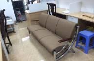 Làm đệm ghế phòng chờ tại Hà đông