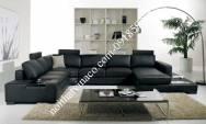 Ghế Sofa Da đen