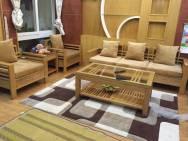 Bọc nệm ghế sofa vải nhung - 05