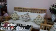 Đệm ghế sofa gỗ tại hà nội