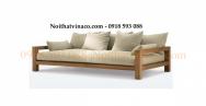 May nệm ghế sofa gỗ tại nội thất vinaco