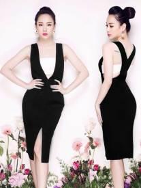 Đầm ôm body dễ thương thiết kế đơn giản, trẻ trung #677