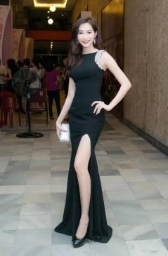 Đầm dạ hội đẹp thiết kế sang trọng, quý phái như Đặng Thu Thảo #686
