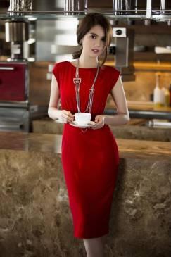 Váy đầm dự tiệc cưới thiết kế phối ren tuyệt đẹp như Ngọc Trinh #689