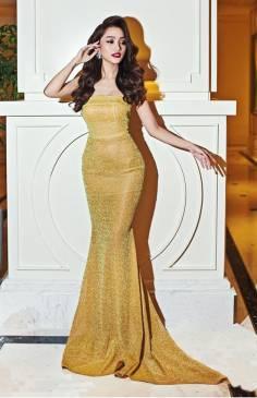 Đầm dài dạ hội đẹp thiết kế đuôi cá sang trọng, quý phái #712