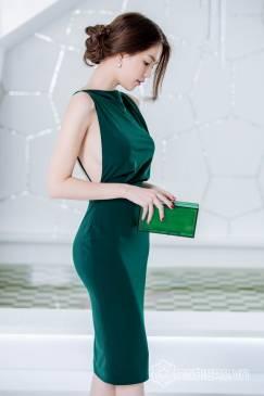 Váy đầm đẹp ôm body thiết hở lưng sexy như Ngọc Trinh #715