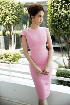 Đầm dự tiệc đẹp thiết kế ôm body cực tôn dáng của Ngọc Trinh #786