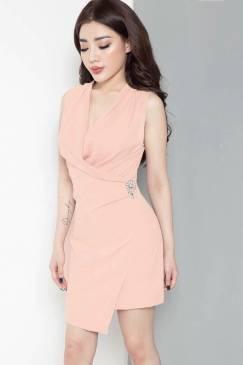 Đầm đẹp đi đám cưới thiết kế trẻ trung, tôn dáng #836