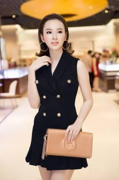 Đầm vest sang trọng, quý phái như Angela Phương Trinh #907