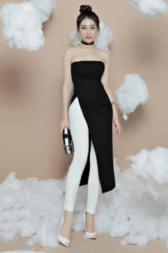 Bộ quần áo dài kiểu dáng mới lạ thiết kế trẻ trung #971
