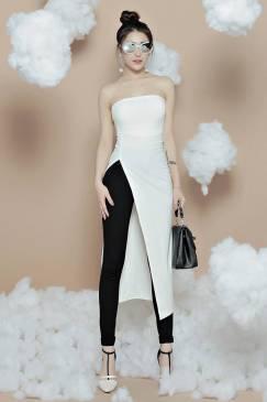 Set quần áo dài kiểu dáng mới lạ thiết kế trẻ trung #971