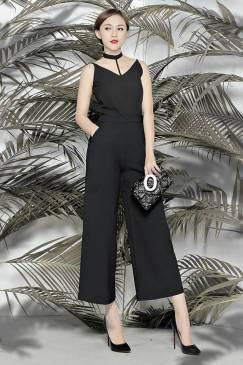 Set quần áo rời đẹp thiết kế quần suông lửng nữ tính #986