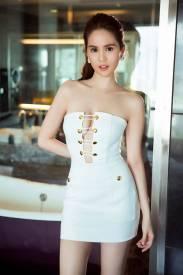 Đầm ống ôm body Ngọc Trinh thiết kế trẻ trung, tinh tế #992