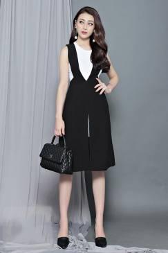 Váy đầm đẹp dự tiệc thiết kế trẻ trung cực phong cách #1012