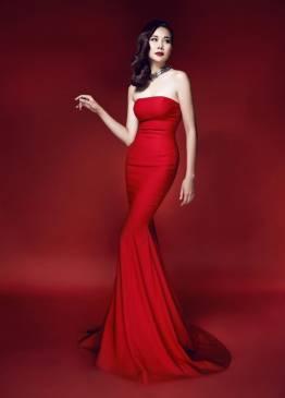 Váy dạ hội đuôi cá thiết kế dạng ống ôm body đẹp #1046