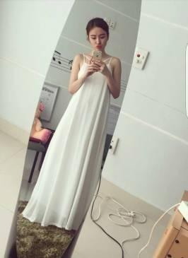 Đầm maxi Phương Trinh thiết kế trẻ trung năng động #1043