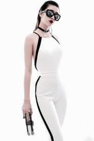 Đồ bay hở lưng thiết kế quần dài ôm body đẹp #1104