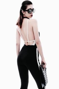 Jumpsuit hở lưng đẹp thiết kế ôm body tôn dáng #1104