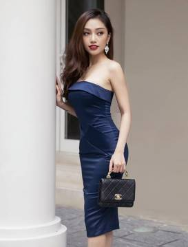 Đầm cúp ngực phi bóng thiết kế ôm body tuyệt đẹp #1110