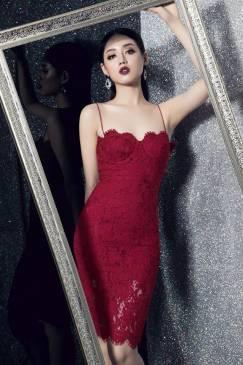 Đầm ren cúp ngực thiết kế 2 dây ôm body tuyệt đẹp #1184