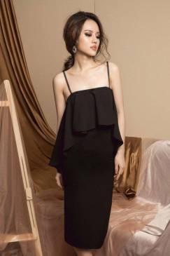 Đầm cúp ngực ôm body thiết kế 2 dây tuyệt đẹp #1364